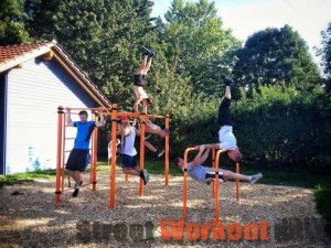 Klettergerüst Erwachsene : Street workout anlage gemeinde tiengen